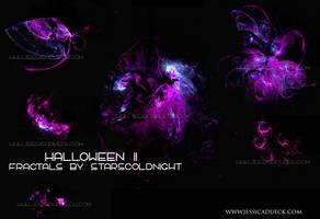 Halloween II fractals by STARSCOLDNIGHT by StarsColdNight