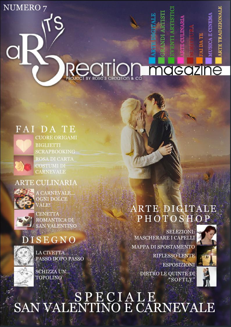aRt's Creation magazine #7 feature by StarsColdNight