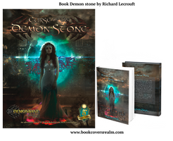 Book Demon stone by Richard Lecrouft by StarsColdNight