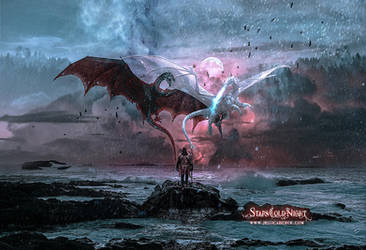 Dragon Castaway Series Wild Rider by B. Urich by StarsColdNight