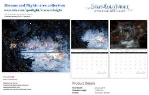 Lulu calendar 2019 by StarsColdNight