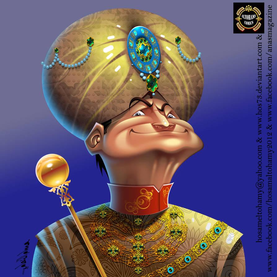 Indian Maharaja by : HOSAM ALTOHAMY by HOS73