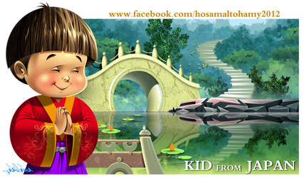 Kid from Japan by Hosam Altohamy by HOS73