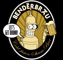 Benderbrau label by sircle