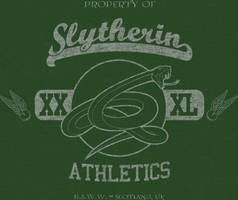 Slytherin Vintage-Look T by sircle