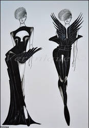 Black avian collection 2. by Verenique