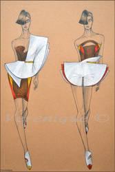 Fashion mini collection 3. by Verenique