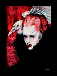 Corvus Daemon by Verenique