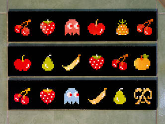 Pixel frutas by jorgespinoza
