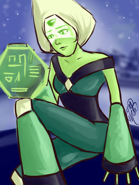 She is Awesome, I like her personality <3 peridot <3