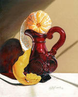 Clementine on Red Cruet by hollydurr