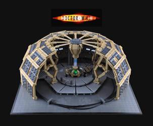 LEGO TARDIS Console Room by Xenomurph