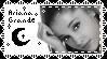 Ariana Grande Stamp  by K0m4stu