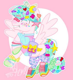 Decora Pegasus Hengst by Elenaknuff