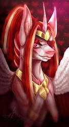 Queen of hearts AT by Elenaknuff