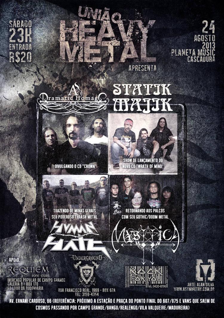 Heavy Metal Union by alansilvaas
