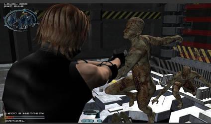 old Resident Evil  concept by blackbirdi
