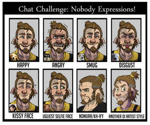 Chat Challenge: Nobody Expressions ft. Sesjex! by Bailzebub