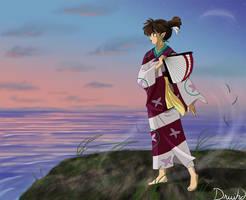 Windy Sunrise by druihd