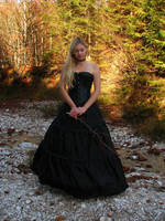 Black Dress 5.1 by Kuoma-stock