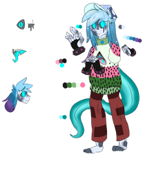 Custom for a friend! by Meri-eyeless
