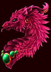 Noble Dragon by blackberrehmoved