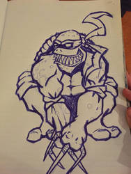 Ninja turtle  by Ltippetts