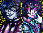 Aquarelle VS Liquid water colour by MCA-art