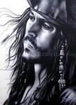 Cpt. Jack Sparrow- Johnny Depp by superchickenn123