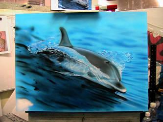 Dolphin - WIP by superchickenn123