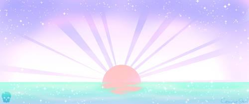 Pastel Sunset by CreativeSkull95