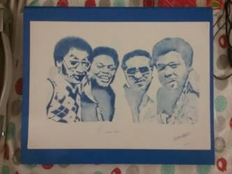 The Fabulous Four Tops!  by silentsketcher97