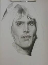 Freddie Mercury so far by silentsketcher97