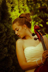 The Cellist by Kealin