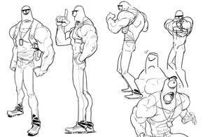Cyclops cop Concept by jpfederhenn