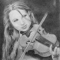 Violin by Djoefie