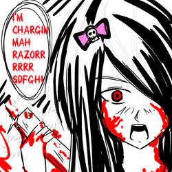 CHARGING MAH - Emo style by Nasu-San