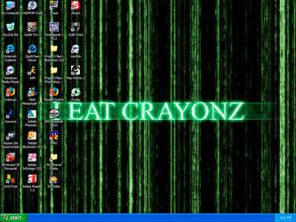 I Eat Crayonz Matrix by alpha-dragon