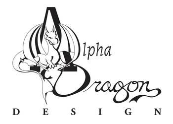 Alpha Dragon Design Logo by alpha-dragon