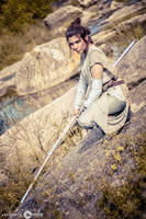 REY - STAR WARS THE FORCE AWAKENS COSPLAY by Candustark