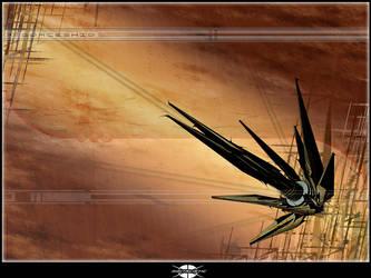 spaceship by digitalistic