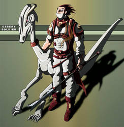Desert Soldier by digitalistic