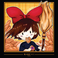 6 Kiki chibi by sorali04