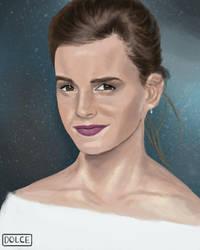 Emma Watson Portrait by JoanaDolce