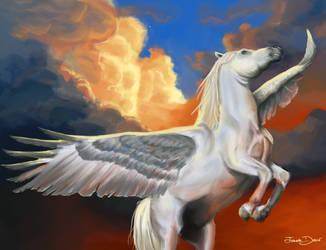 Pegasus by JoanaDolce