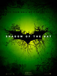 Shadow of the Bat Poster by hobo95
