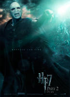 Deathly Hallows 2 Poster - Voldemort by hobo95