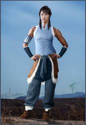 Avatar Korra by hobo95