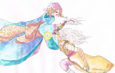 Mononoke: Kusuriuri and Hyper by quirso