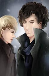 Sherlock by kazutera